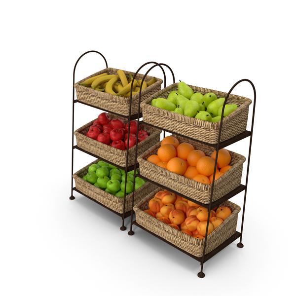Fruit Baskets PNG & PSD Images