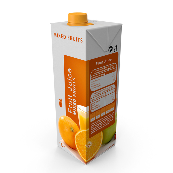 Drink Container: Fruit Juice PNG & PSD Images