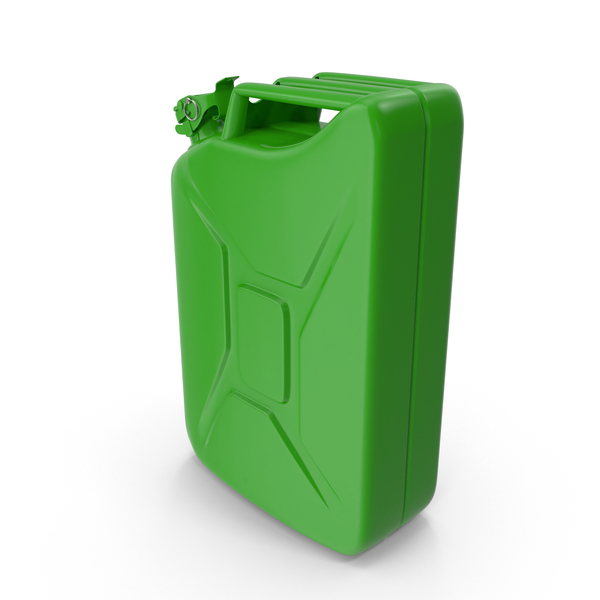 Fuel Can Light Green PNG & PSD Images