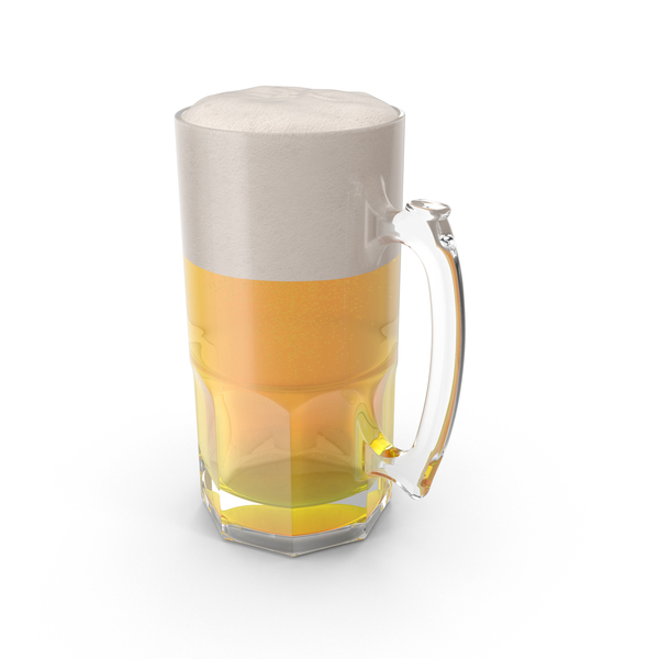 Full Beer Mug PNG & PSD Images