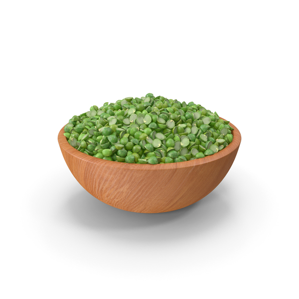 Full Bowl of Split Pea PNG & PSD Images