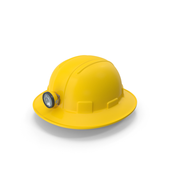 Full Brim Miners Hard Hat PNG & PSD Images