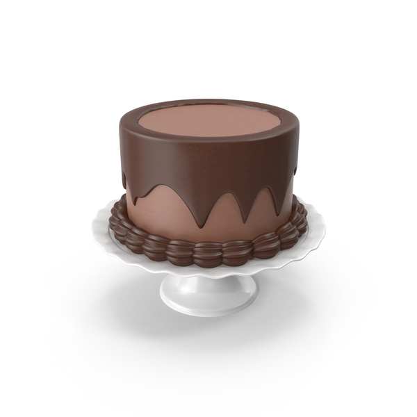 Full Chocolate Cake PNG & PSD Images
