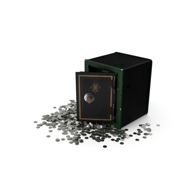 Full Coin Safe PNG & PSD Images