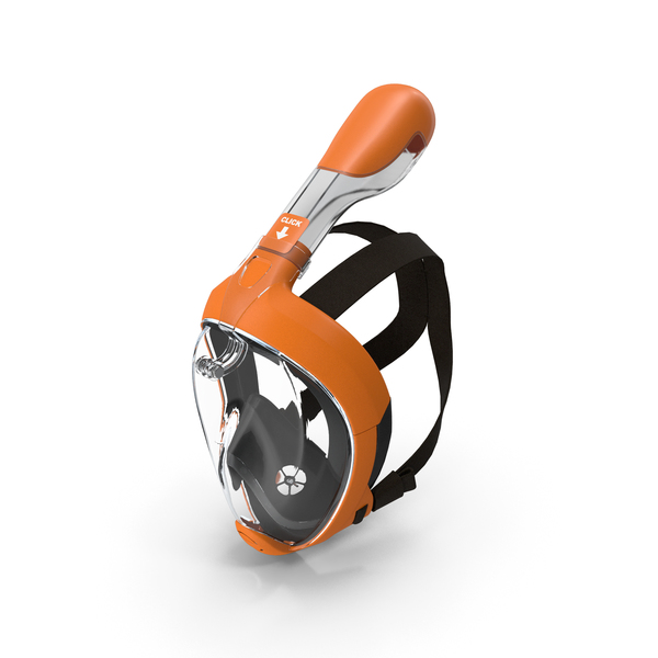 Full Face Snorkel Mask Generic PNG & PSD Images
