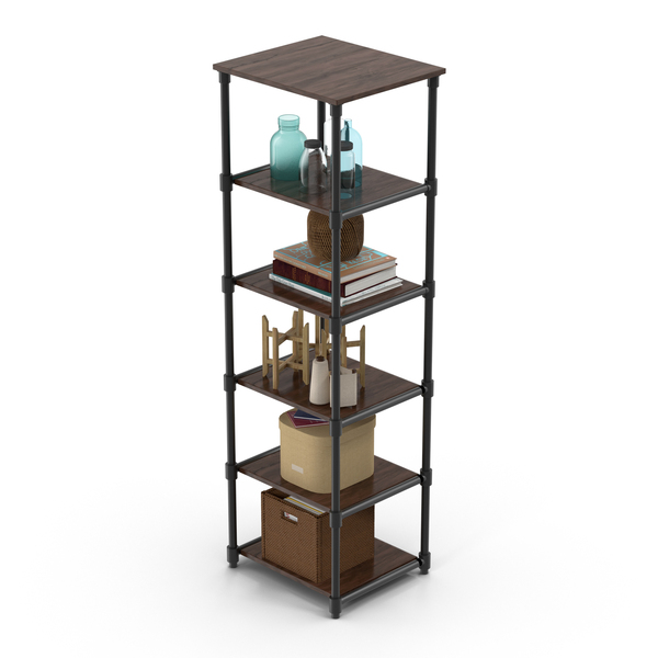 Shelving: Full Shelf PNG & PSD Images