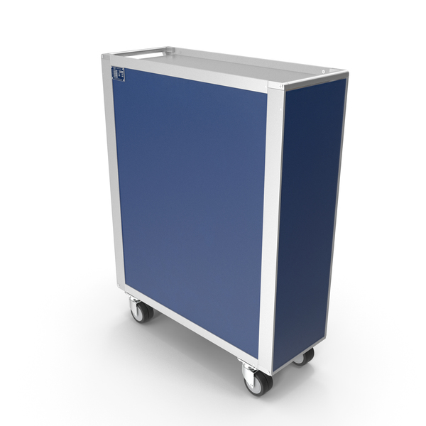 Catering Cart: Full Size Aviation Trolley PNG & PSD Images