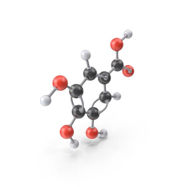 Gallic Acid Molecule PNG & PSD Images