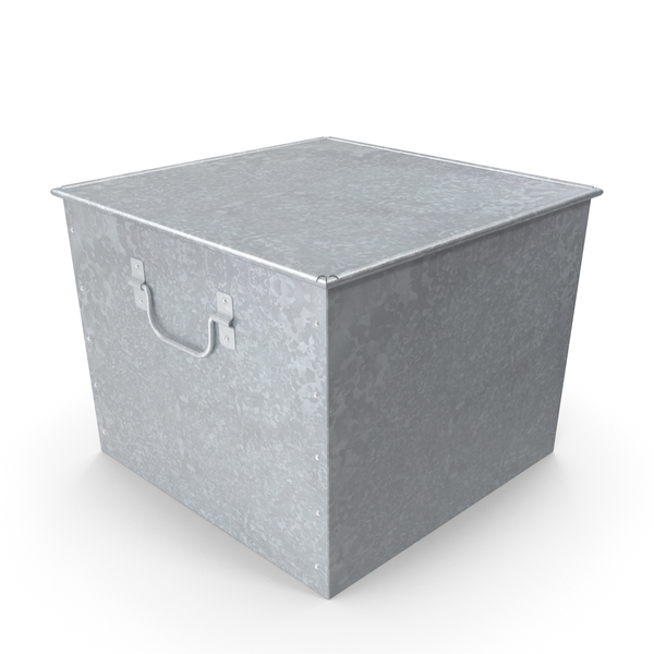 Galvanized Box PNG & PSD Images