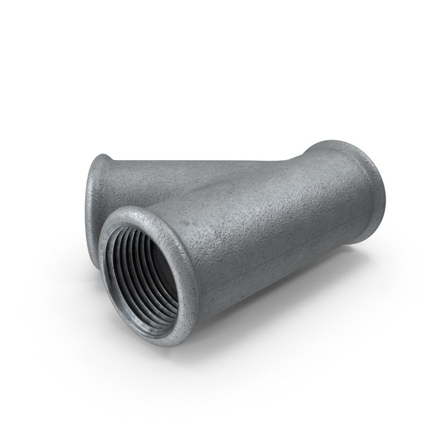 Industrial Pipes: Galvanized Steel Pipe Split PNG & PSD Images