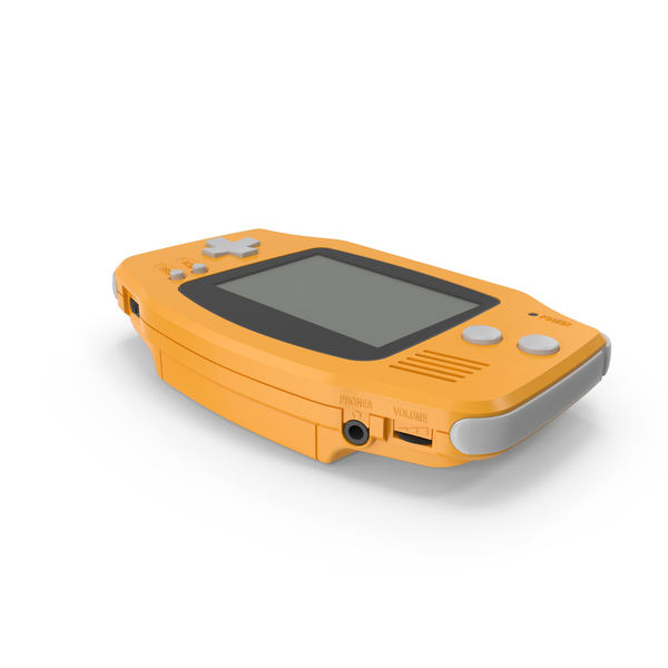Game Boy Advance PNG & PSD Images