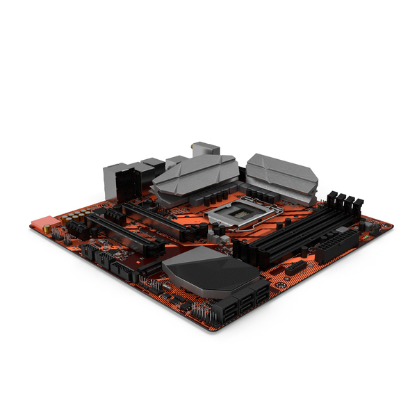 Gaming Motherboard PNG & PSD Images