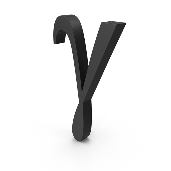 Greek Alphabet: Gamma PNG & PSD Images