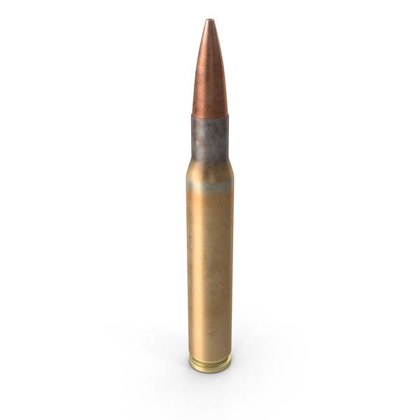 Gun Magazine: Garand 30 Caliber Round PNG & PSD Images