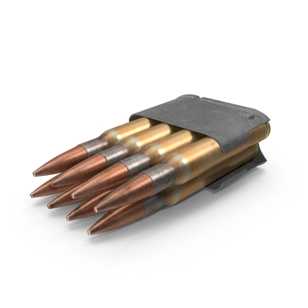 Garand Ammo Clip PNG & PSD Images