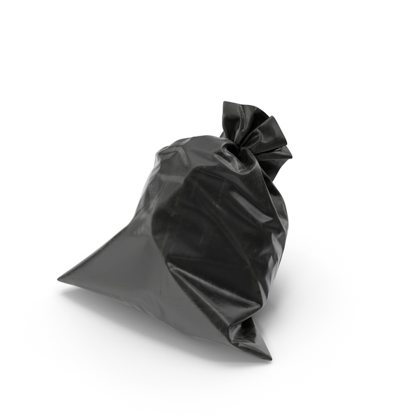 Garbage Bag Black PNG & PSD Images