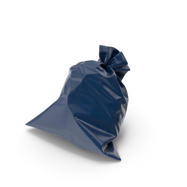 Garbage Bag Blue PNG & PSD Images