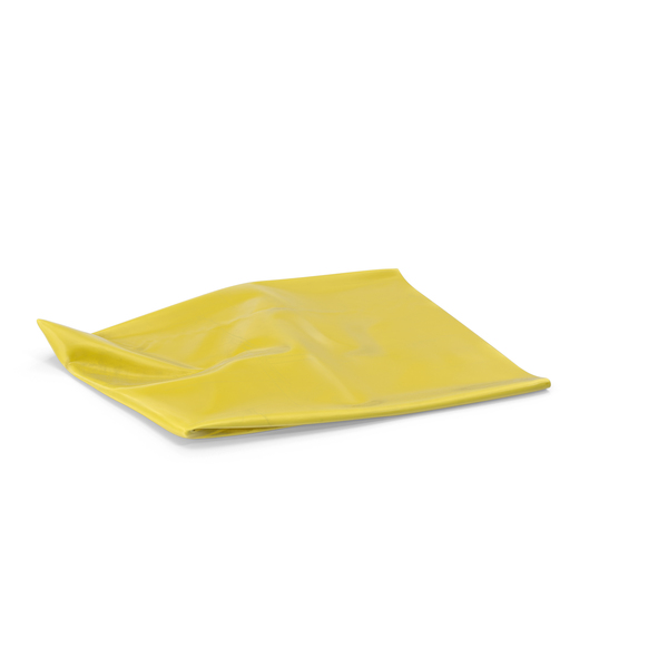 Garbage Bag Yellow PNG & PSD Images