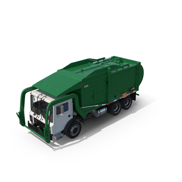 Garbage Truck Object
