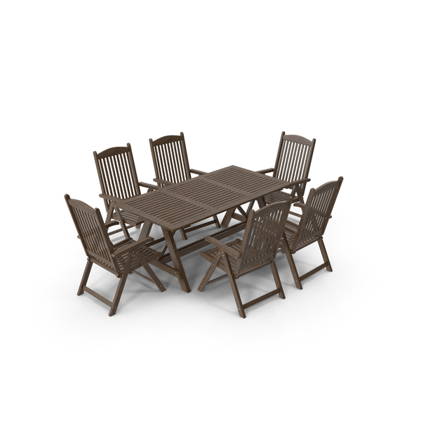 Garden Furniture Set PNG & PSD Images