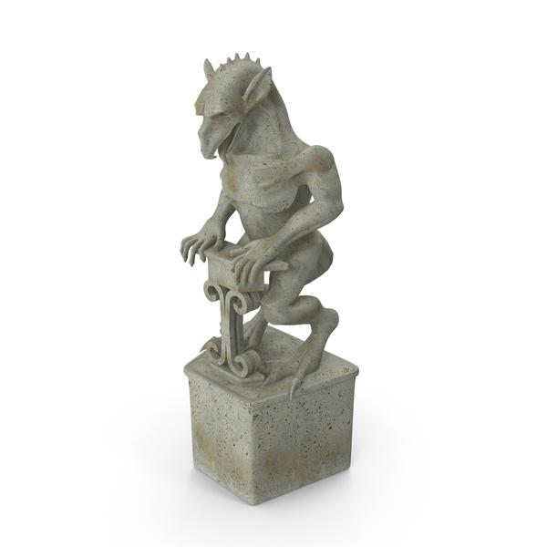 Gargoyle Statue PNG & PSD Images