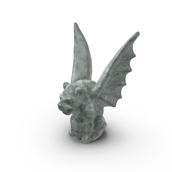 Statue: Gargoyle PNG & PSD Images
