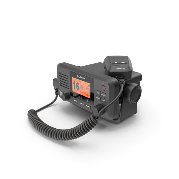 Garmin VHF 110 Fixed Mount Marine Radio PNG & PSD Images