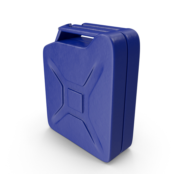 Gas Can Blue PNG & PSD Images