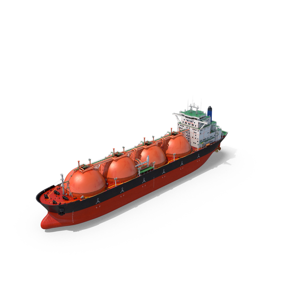 Gas Carrier Ship Object
