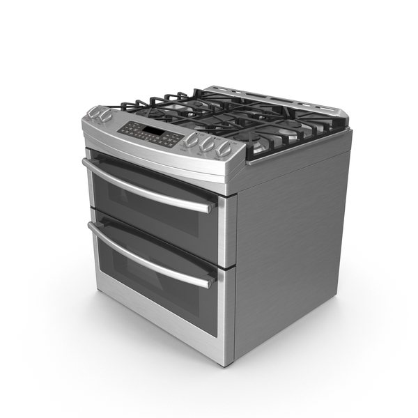 Gas Oven Range Object
