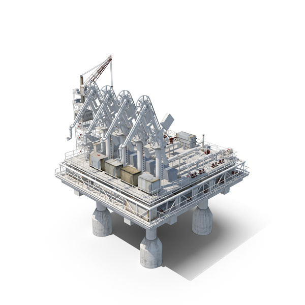 Gas Platform PNG & PSD Images