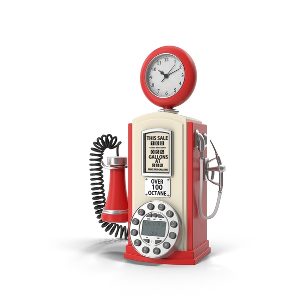 Telephone: Gas Station Design Phone PNG & PSD Images