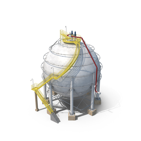 Gas Storage Tank PNG & PSD Images
