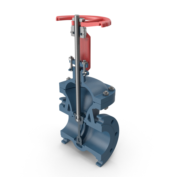 Gate Valve Cross Section PNG & PSD Images