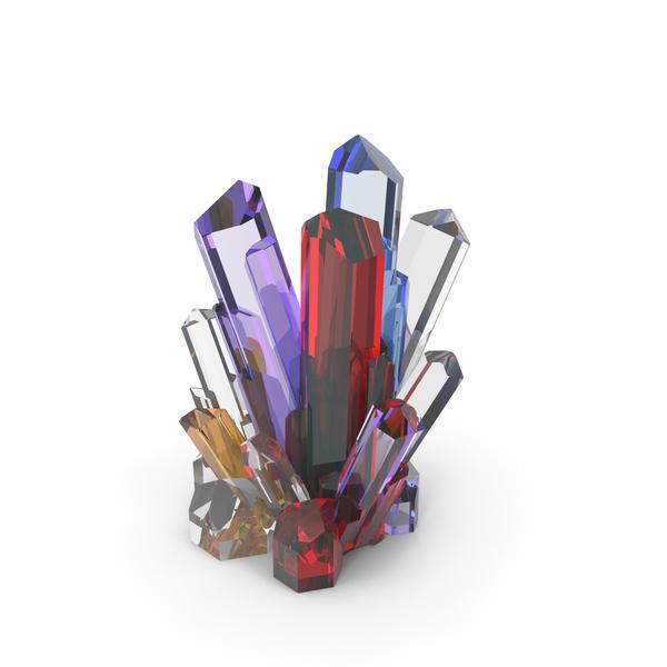 Gem Crystals PNG & PSD Images