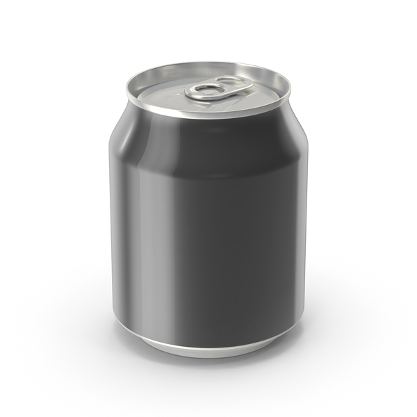 Generic Black Can 237ml PNG & PSD Images