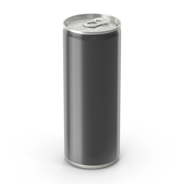Generic Black Can 250ml PNG & PSD Images