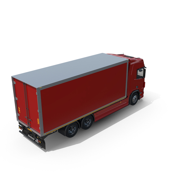 Generic European Box Truck PNG & PSD Images