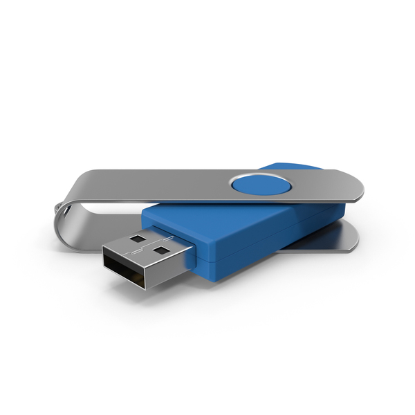 Generic USB Flash Drive PNG & PSD Images