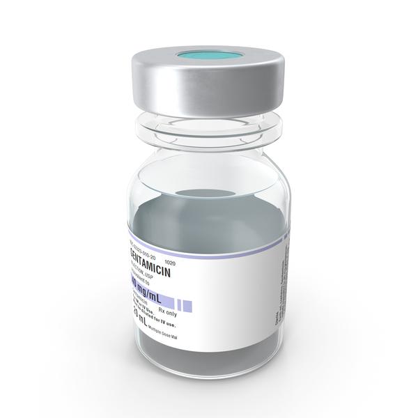 Gentamicin Vial PNG & PSD Images