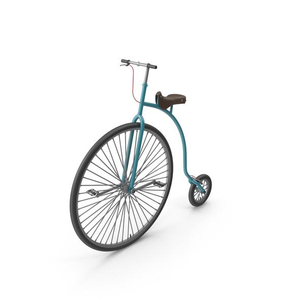 Pennyfarthing: Gentlemen Bike PNG & PSD Images