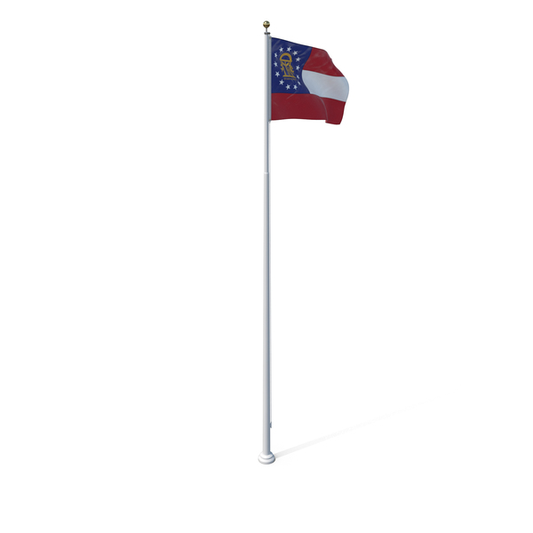 Georgia State Flag Object