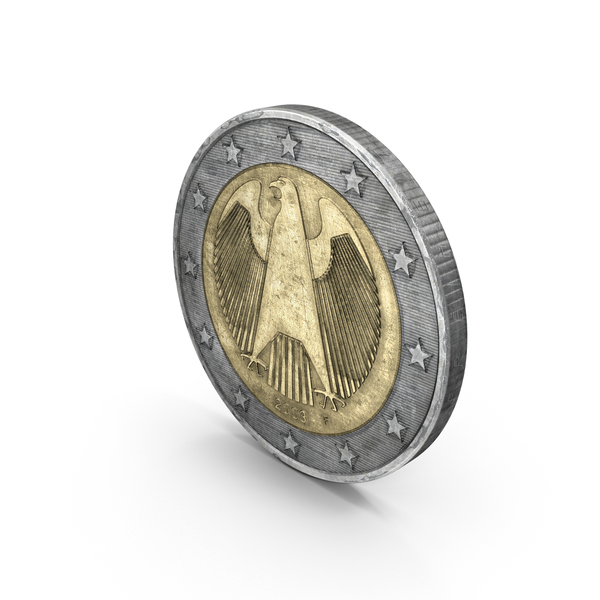 German 2 Euro Coin PNG & PSD Images
