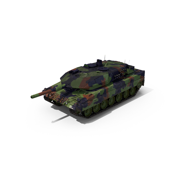 German Battle Tank Leopard 2A5 PNG & PSD Images