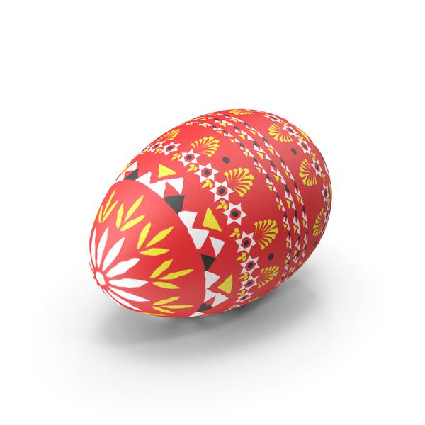German Easter Egg Object