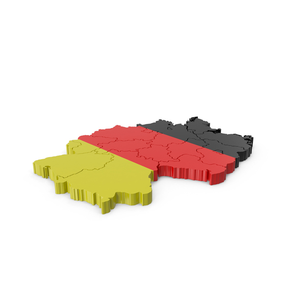 Germany Map PNG & PSD Images
