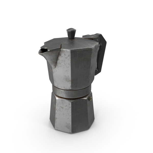 Camping Pot: Geyser Coffee Maker PNG & PSD Images