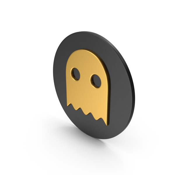 Ghost Gold Icon PNG & PSD Images