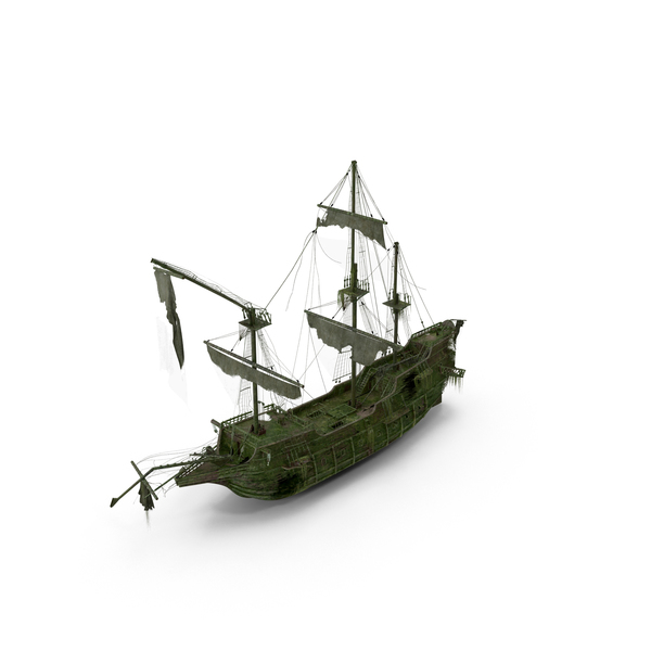 Ghost Pirate Ship Object