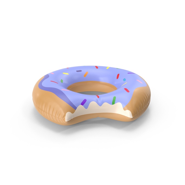 Toy: Giant Donut Pool Float PNG & PSD Images